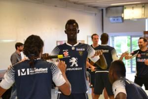 Training with FC Sochaux