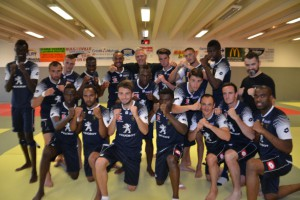Training with FC Sochaux